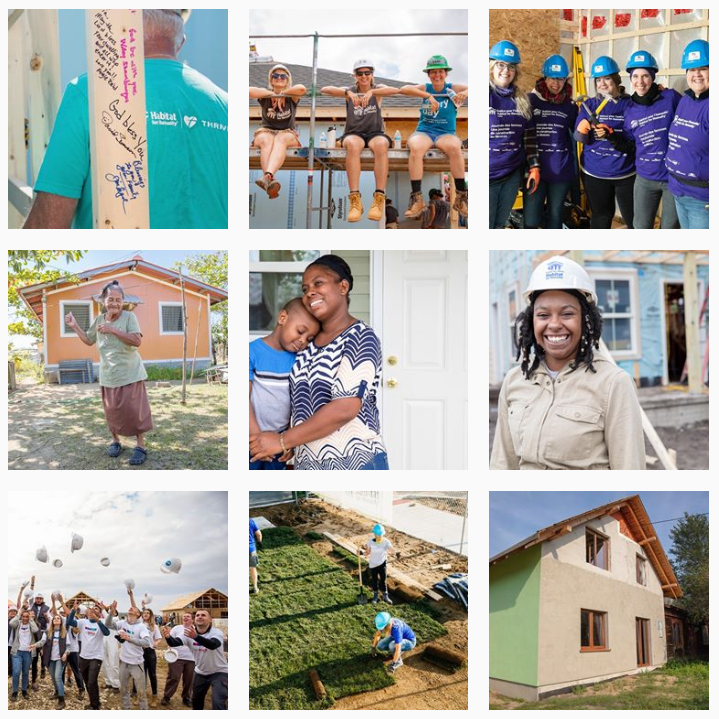 Habitat for Humanity Instagram